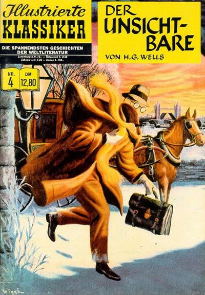 Cover for Illustrierte Klassiker [Classics Illustrated] (Norbert Hethke Verlag, 1991 series) #4 - Der Unsichtbare