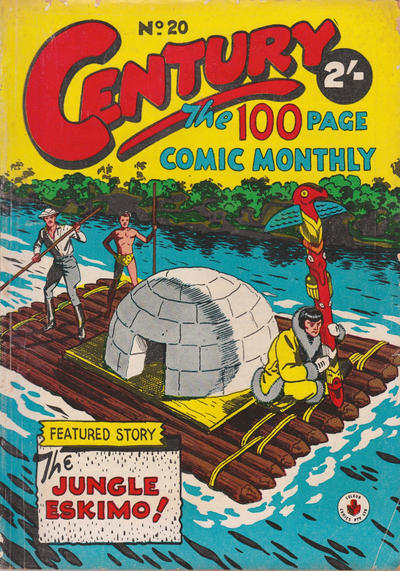 Cover for Century, The 100 Page Comic Monthly (K. G. Murray, 1956 series) #20