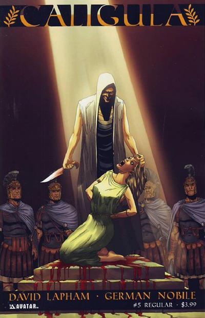 Cover for Caligula (Avatar Press, 2011 series) #5