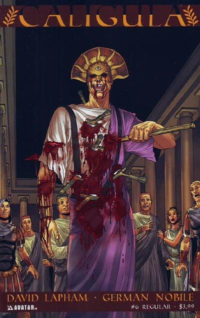 Cover for Caligula (Avatar Press, 2011 series) #6