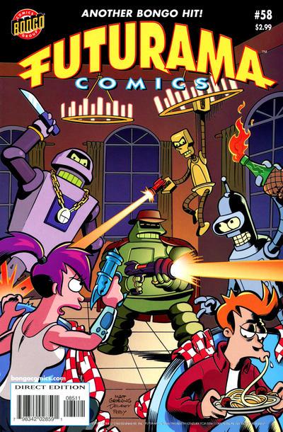 Cover for Bongo Comics Presents Futurama Comics (Bongo, 2000 series) #58
