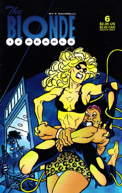 Cover for The Blonde: 12 Pearls (Fantagraphics, 1996 series) #6