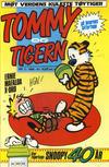 Cover for Tommy og Tigern (Bladkompaniet / Schibsted, 1989 series) #3/1990