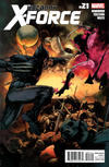 Cover for Uncanny X-Force (Marvel, 2010 series) #21