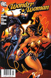 Cover for Wonder Woman (DC, 2006 series) #3 [Newsstand Edition]
