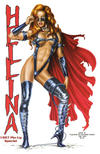 Cover for Hellina 1997 Pin-Up Special (Lightning Comics [1990s], 1997 series)  [Cover B]
