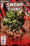 Cover Thumbnail for Swamp Thing (2011 series) #1 [2nd Printing - Red Background]