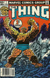 Cover for The Thing (Marvel, 1983 series) #1 [Newsstand]