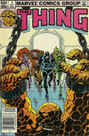 Cover for The Thing (Marvel, 1983 series) #3 [Newsstand]