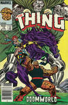 Cover for The Thing (Marvel, 1983 series) #12 [Newsstand]