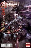 Cover for Avengers: X-Sanction (Marvel, 2012 series) #2 [Direct Market Variant Cover by Stephen Platt]