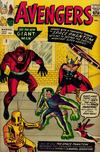 Cover for The Avengers (Marvel, 1963 series) #2 [British]