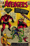 Cover for The Avengers (Marvel, 1963 series) #2 [British Price Variant]