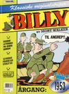 Cover for Billy Klassiske originalstriper (Semic, 1989 series) #1953 [2. opplag]