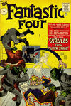 Cover for Fantastic Four (Marvel, 1961 series) #2 [British Price Variant]