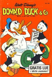 Cover Thumbnail for Donald Duck & Co (Hjemmet / Egmont, 1948 series) #27/1968