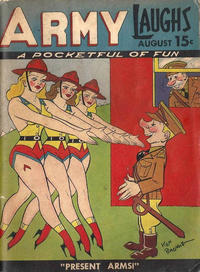 Cover Thumbnail for Army Laughs (Prize, 1941 series) #v1#6