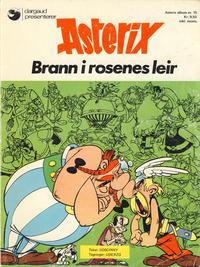 Cover Thumbnail for Asterix (Hjemmet / Egmont, 1969 series) #15 - Brann i rosenes leir [1. opplag]