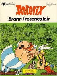 Cover Thumbnail for Asterix (Hjemmet / Egmont, 1969 series) #15 - Brann i rosenes leir [2. opplag]