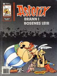 Cover Thumbnail for Asterix (Hjemmet / Egmont, 1969 series) #15 - Brann i rosenes leir [5. opplag]