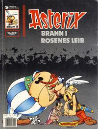 Cover Thumbnail for Asterix (Hjemmet / Egmont, 1969 series) #15 - Brann i rosenes leir [6. opplag]
