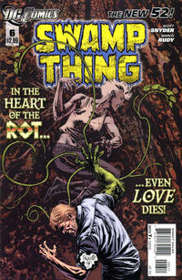 Cover for Swamp Thing (DC, 2011 series) #6