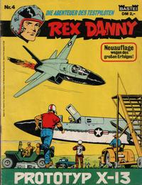 Cover Thumbnail for Rex Danny (Bastei Verlag, 1977 series) #4