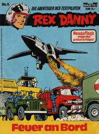 Cover Thumbnail for Rex Danny (Bastei Verlag, 1977 series) #5