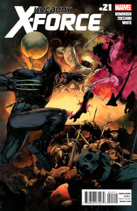 Cover Thumbnail for Uncanny X-Force (Marvel, 2010 series) #21