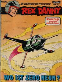 Cover Thumbnail for Rex Danny (Bastei Verlag, 1979 series) #20