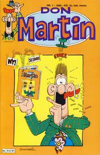 Cover Thumbnail for Don Martin (Bladkompaniet / Schibsted, 1989 series) #1/1989