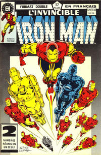 Cover Thumbnail for L'Invincible Iron Man (Editions Héritage, 1972 series) #129/130
