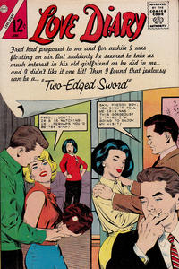 Cover Thumbnail for Love Diary (Charlton, 1958 series) #33