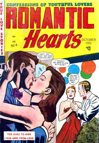 Cover Thumbnail for Romantic Hearts (Story Comics, 1951 series) #4