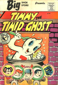 Cover Thumbnail for Timmy the Timid Ghost (Charlton, 1959 series) #14 [Big Shoe Store]