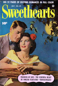 Cover Thumbnail for Sweethearts (Fawcett, 1948 series) #89