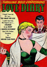 Cover Thumbnail for Love Diary (Orbit-Wanted, 1949 series) #43