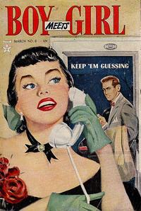 Cover Thumbnail for Boy Meets Girl (Lev Gleason, 1950 series) #9