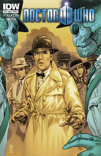 Cover Thumbnail for Doctor Who (IDW, 2011 series) #14 [Cover A]