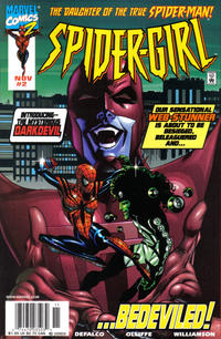 Cover Thumbnail for Spider-Girl (Marvel, 1998 series) #2 [Newsstand Edition]
