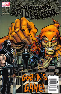 Cover Thumbnail for Amazing Spider-Girl (Marvel, 2006 series) #13 [Newsstand Edition]