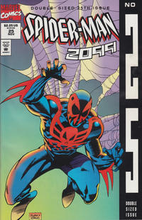 Cover Thumbnail for Spider-Man 2099 (Marvel, 1992 series) #25 [Direct Regular Edition]