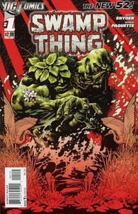 Cover Thumbnail for Swamp Thing (DC, 2011 series) #1 [2nd Printing - Red Background]