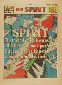 Cover Thumbnail for The Spirit (Register and Tribune Syndicate, 1940 series) #7/15/1951