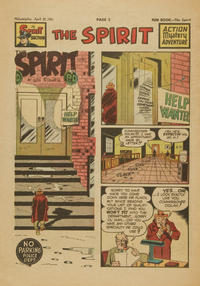 Cover Thumbnail for The Spirit (Register and Tribune Syndicate, 1940 series) #4/29/1951