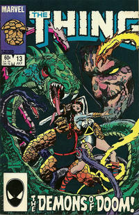 Cover Thumbnail for The Thing (Marvel, 1983 series) #13 [Direct Edition]