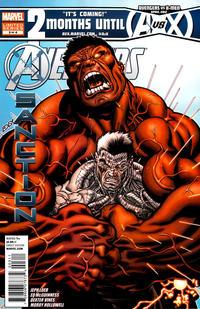 Cover Thumbnail for Avengers: X-Sanction (Marvel, 2012 series) #3