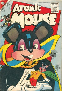 Cover Thumbnail for Atomic Mouse (Charlton, 1953 series) #21