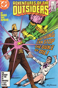Cover Thumbnail for Adventures of the Outsiders (DC, 1986 series) #44 [Direct]