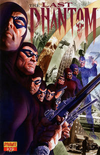 Cover Thumbnail for The Last Phantom (Dynamite Entertainment, 2010 series) #10